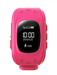 Per bambini Smart watch DigitaleLED / Touchscreen / Con righello / Pulsometro / Telecomando / Calendario / Cronografo / Resistente
