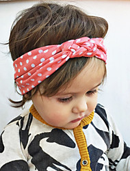 Kid's Cute Dot Knot Elastic Headband