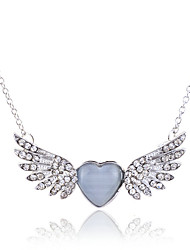 Jewelry Pendant Necklaces / Statement Necklaces Party / Daily / Casual Crystal / Alloy / Opal 1pc Women Wedding Gifts