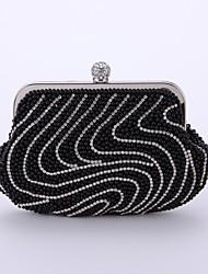 L.WEST®  Women  Event/Party / Wedding / Evening Bag Pearl Delicate Handbag