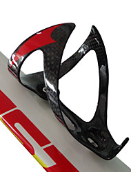 BC237 Neasty Brand Carbon Fiber Bicycle Water Bottle Holder Red Decal