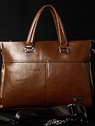 Men PU Office & Career Laptop Bag - Brown