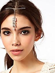Women's Elegant Rhinestone Gemstone Hairpin