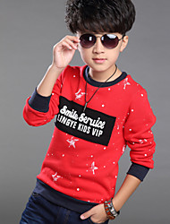 Boy's Cotton / Polyester Tee , Winter Long Sleeve