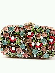 Women's Flower Rhinestone Sweet Evening Handbags