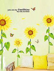 Botanical / Fashion Wall Stickers Plane Wall Stickers , PVC 90cm*60cm