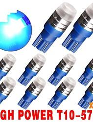 10 x t10 bleu coin haute puissance 1W puces Samsung SMD ampoules 192 168 194 921 nous conduit