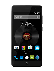 "Elefono Snapdragon410 5.0 "" Android 5.1 Smartphone 4G (Due SIM Quad Core 13 MP 2GB + 16 GB Nero / Bianco)"