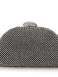 Damen - Abendtasche - Polyester - Schminktäschchen - Gold / Silber / Schwarz
