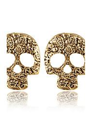 Earring Stud Earrings Jewelry Women Alloy 2pcs Silver / Brown