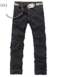 More than of men's pants pocket frock loose Korean fashion outdoor sports leisure male trousers men's trousers