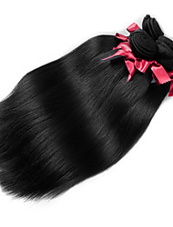 Malaysia Virgin Hair Silky Straight Wefts Unprocessed Malaysia Virgin Human Hair Weaves #1B Color Top Grade 2Pcs/lot