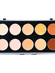 10 Concealer/Contour Balm Face Brown / White / Multi-color / Natural / Coffee