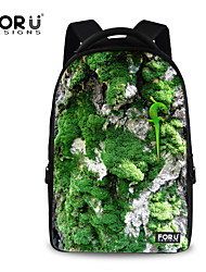 FOR U DESIGNS Unisex Gecko Picture Polyester Sports Laptop Backpacks