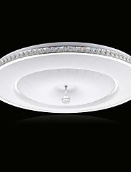 90~265V 21W Flush Mount Crystal / LED Modern/Contemporary Living Room/ Bedroom/ Dining Room/ Kids Room Metal Metal
