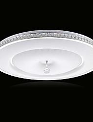 21W Contemporaneo Cristallo / LED Metallo Montaggio del flussoSalotto / Camera da letto / Sala da pranzo / Sala studio/Ufficio / Camera