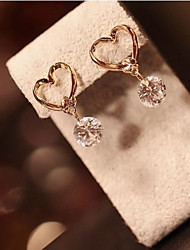 JY Jewelry Love zircon earring