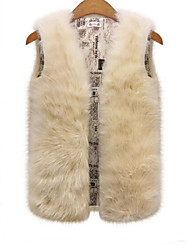 Rabbit Fur Top , Lined