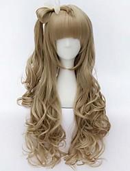 Paukenschlag von schönen Cosplay sythetic Haarperücken extensionas schöne und nette Perücke