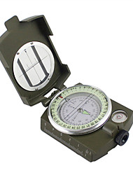 American All-Metal High-Grade Folding Compass With a Luminous Compass Outdoor Multifunction Compass Compass