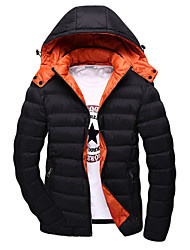 Winter men with cotton thickening cotton-padded clothes men's clothing han edition men cotton-padded jacket coat