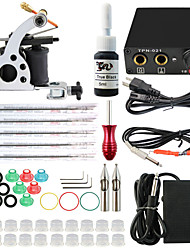 ITATOO® Kits De Tatuagem Cpmplete Tattoo Gun Machine Kits with 1 Tattoo Machine 1 Ink Pigment 5 Tattoo Needles