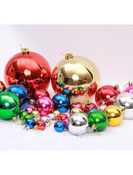 6 Bags Colorful Christmas Tree Ornaments Gifts Ball(Random Color)