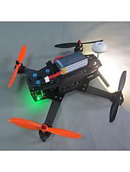 Drone Sextant L250-1 6Canaux 3 Axes 2.4G Avec Caméra HD 720P Quadrirotor RC FPV / Avec Caméra Noir