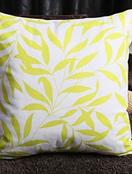 Custom Cotton Canvas Leaning Cushion  The leaves