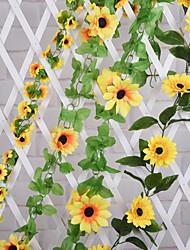 Silk Sunflowers Artificial Flowers