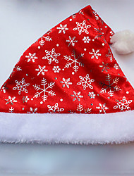 12PCS Fashion Adult Red Father Christmas Xmas Party Santa Fancy Dress Costume Hat