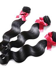 EVET Peruvian Hair Bundles Body Wave 3pcs lot Virgin Hair Weave Extensions Body Wave Remy Human Hair Bundles