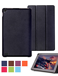 Shy Bear™ Leather Cover Stand Case for Amazon Kindle Fire 7 2015 Tablet