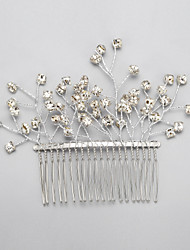 Women's / Flower Girl's Rhinestone / Alloy Headpiece-Wedding / Special Occasion Hair Combs 1 Piece