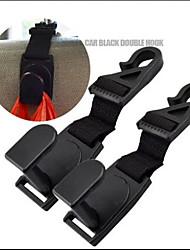 sacs automobiles voiture de suspension organisateur vêtements de manteau de porte-accessoires de crochets suspendus siège de titulaire