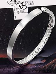 minimalistische mode opluchting binnen duizend mooie zilveren armband opening tekening