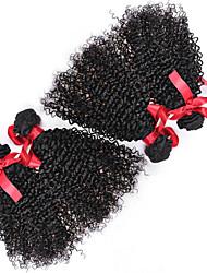 бразильский вьющиеся волосы ткать 4 пучки девственные наращивание волос человеческие волосы вьющиеся сорта странный 7а Реми волос пучки