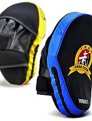 incurvée main-cible la formation cible de taekwondo la boxe sanda combats muay thai pad de mise au point