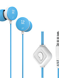 Langsdom M158 3.5mm In-ear Earphone Music Stereo Bass with Microphone Headphone For Phone PC Computer MP3 MP4