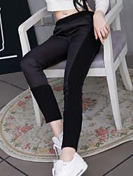 Casual - Polyester / Wolmixen - Micro-elastisch - Recht - Broek - Vrouwen