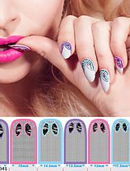 1 PCS  Italian Cat Nail Polish Full Stickers Nail  Stickers