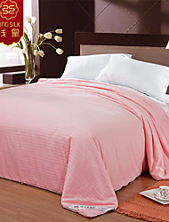 Pink New Four Seasons Warm Quilt 100% Cotton Quilt Pure Silk Blanket Comforter Home Textile Silk Quilts Bedding Sets