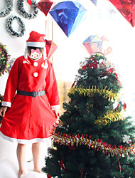 3 IN 1 Christmas Costumes for Women Fantasias Anime Dress Miss Santa Claus Costumes Female Party Dresses Cosplay