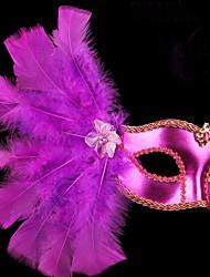 veneziano mascherata fascia della piuma pizzo maschera halloween partito di festa idea regalo di Natale