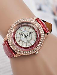 L.WEST Fashion High-end Restoring Ancient Ways Diamonds Beads Quartz Watch