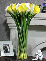 Plástico / Gel de Sílice Lirios Flores Artificiales