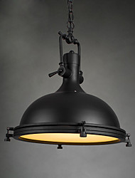 Industrial Single Pendant Lamp for Bar Coffee Room Decorate Loft Style Vintage Metal Drop Light