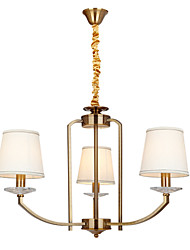 Stylish Chandelier with 3 Lights in Classic traditional style