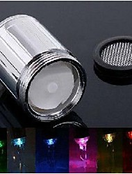 rainbow led faucet ABS material