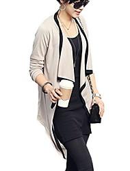 Women's  Casual Sexy Cute  Plus Sizes Long Sleeve Shirt  (Knitwear)